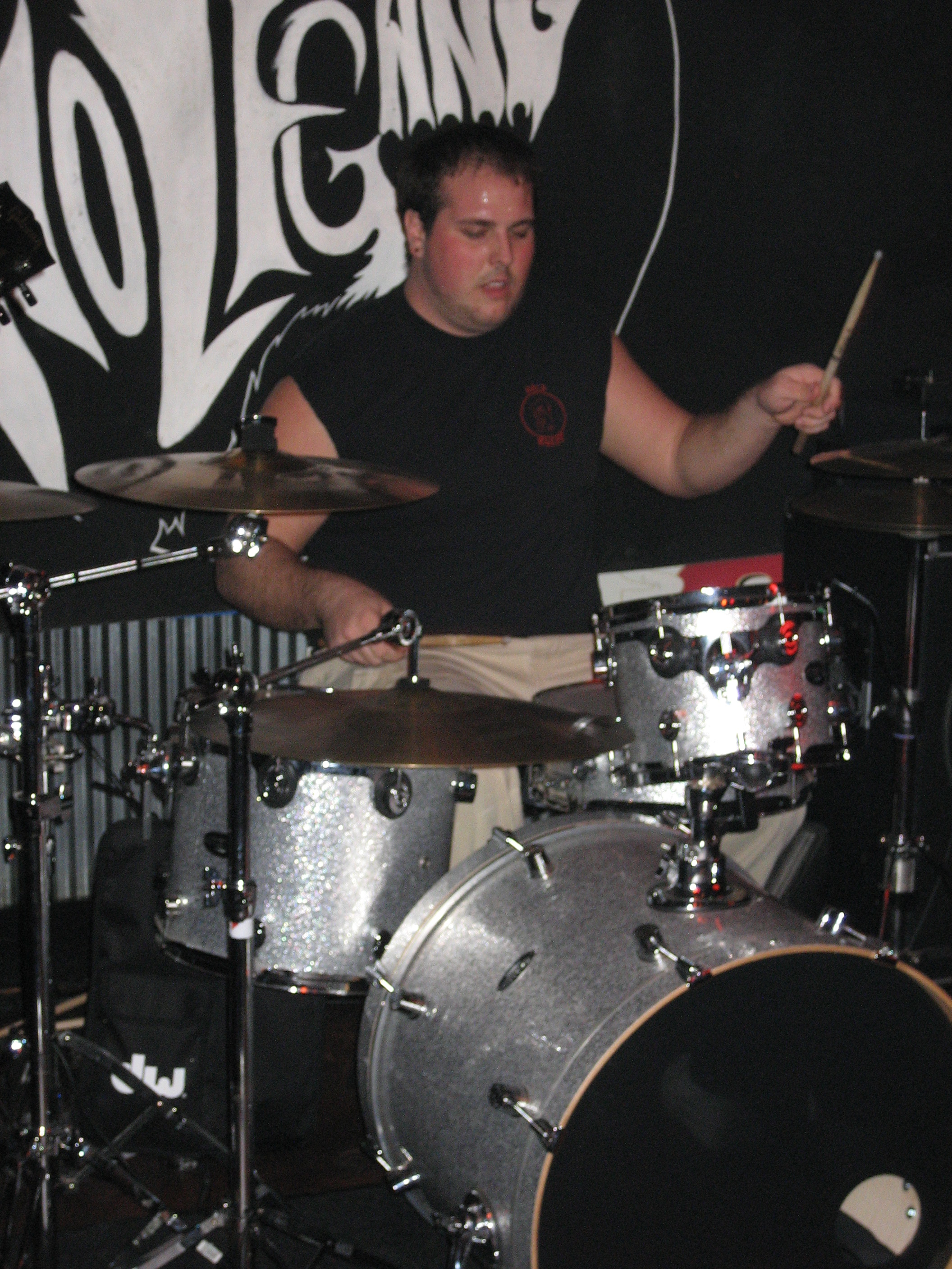 New Drummer Eric The Savage